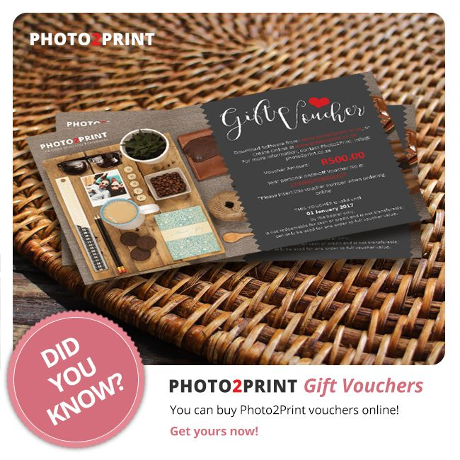 Don't know what to buy for birthdays? Why not give them a Photo2Print voucher? #greatgift #buyavouchernow