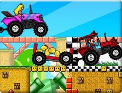 jogar Mario Tractor Drag Race online