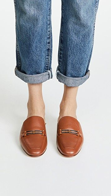 e594ea248b5 Tory Burch Amelia Backless Loafers
