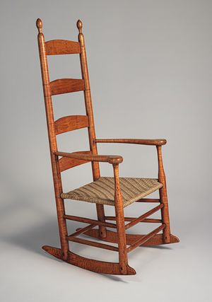 Rocking chair [American] (66.10.23) | Heilbrunn Timeline of Art History | The Metropolitan Museum of Art
