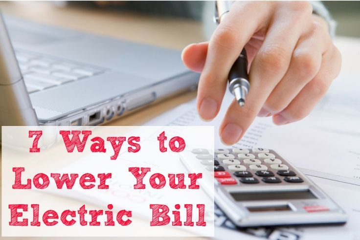 7 Easy Ways to Lower Your Electric Bill--are you looking to save some money on your electric bill? Here are some easy tips to help you get started!