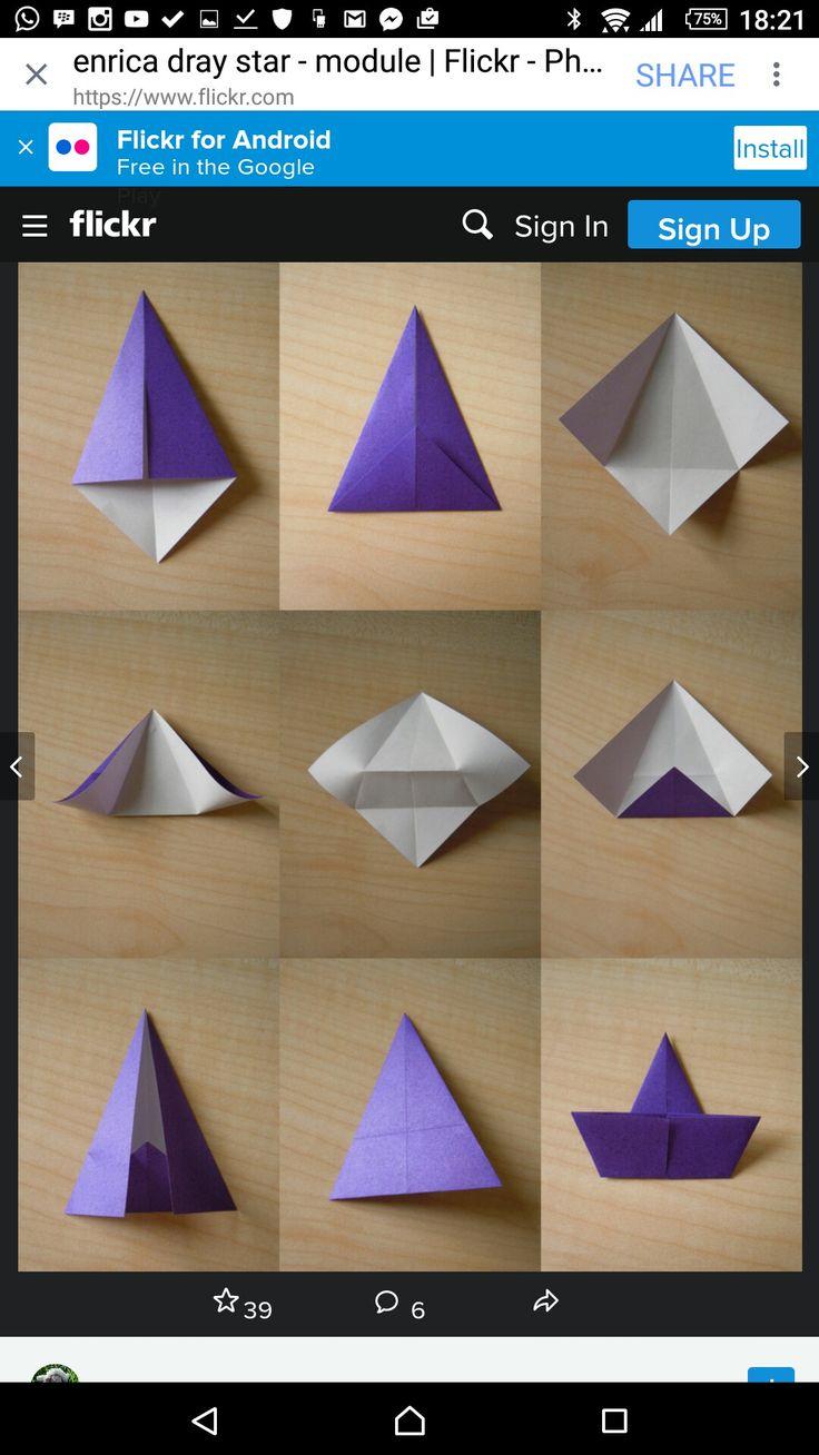 Modular Origami, Inspiring Pictures, Diy, Photos, Pictures, Fai Da Te,  Photographs, Do It Yourself, Diys