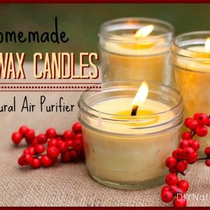 Beeswax candles. I use grapeseed oil and I add essential oil after I remove it from the fire and before pouring it in the jars.