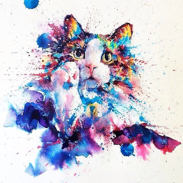 Watercolor art by @liviing