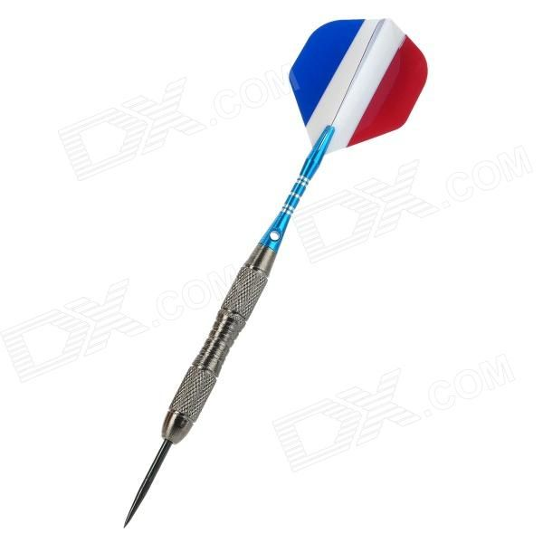 Model: DS14; Quantity: 3 piece(s) per pack; Color: White + Blue + Silver + Red; Material: Aluminum alloy + PET; Specification: Length: 15.3cm; Weight: 22g; Other Features: Great for dart game lovers; Packing List: 3 x Darts; http://j.mp/1ljC9cH