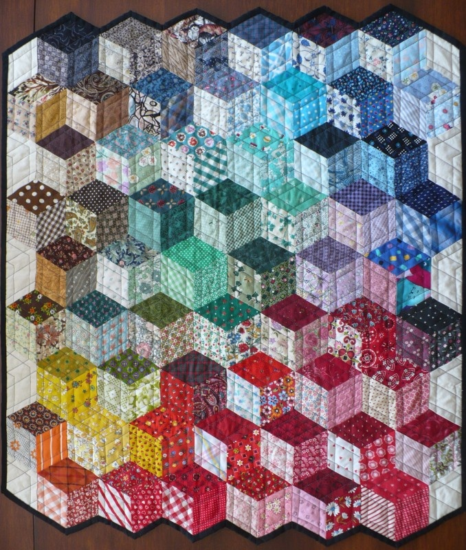 12 Best Optical Illusion Quilts Images On Pinterest
