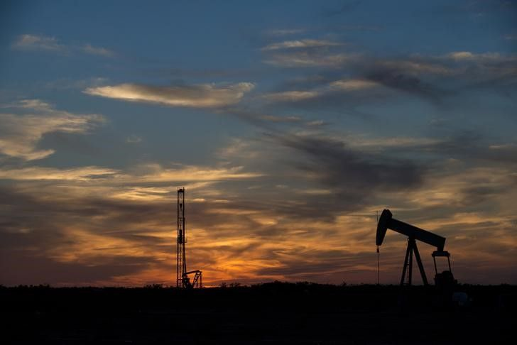 "Brent crude oil prices rose above $55 a barrel on Monday, trading at a fresh 16-month high, on rising prospects of a tightening market after OPEC members agreed on a landmark deal to cut production last week.  WTI crude oil (CLc1) traded up 50 cents, also 1 percent, at $52.18 a barrel.  ""OPEC sentiment"