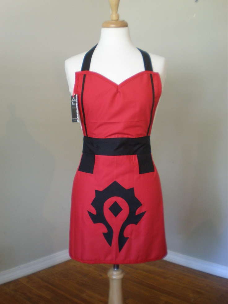 Custom designed apro by Haute Mess Threads World of warcraft the horde