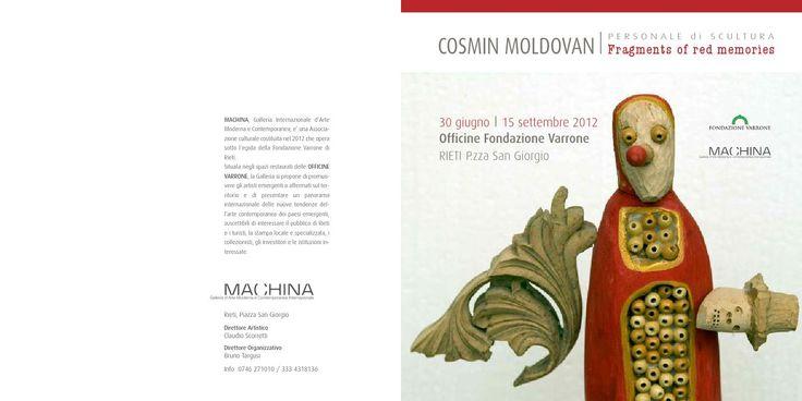 Moldovan Cosmin -Fragments of red memories  Sculpture