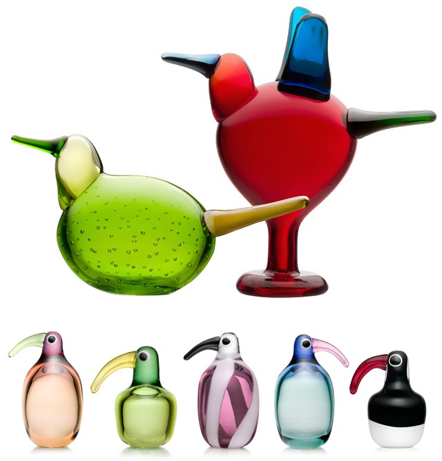 Iittala glass birds, Finland!