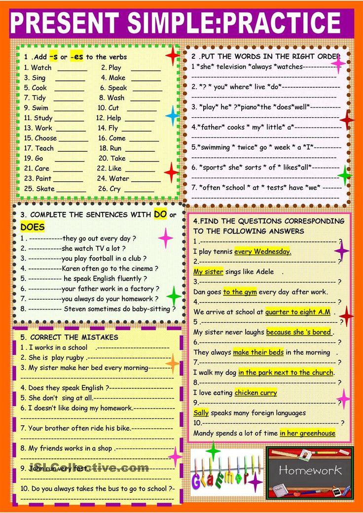 Oltre 25 fantastiche idee su Exercice d anglais 6eme su ...