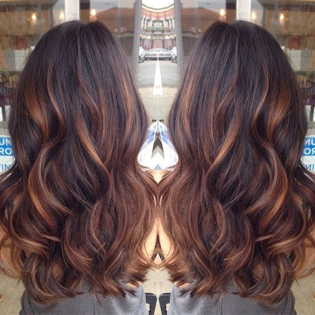 Long Wavy Ombre Hairstyle
