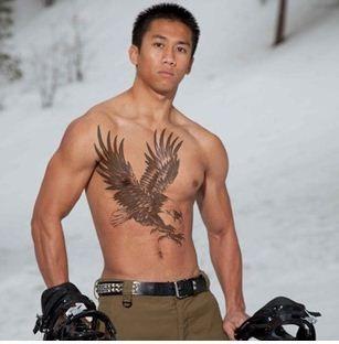 2 stks lot nieuwe aankomst vrouw & man fashion sexy grote tijdelijke tattoo eagle tattoo sticker ontwerp tatto particuliere(China (Mainland))