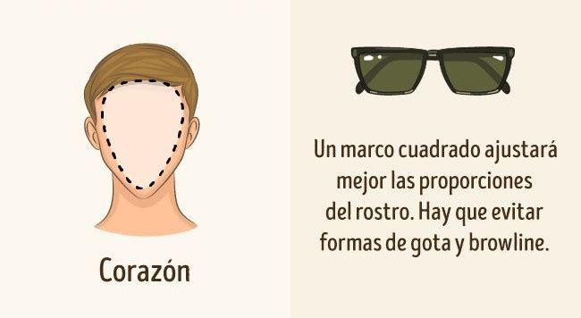 9165ec4376 7 Tipos de Lentes de Sol que debes usar según la forma de tu rostro ...
