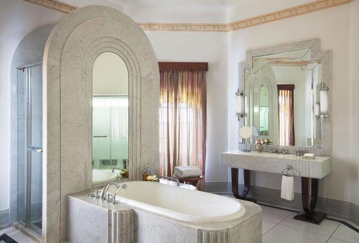 Sonar Con Baño De Tina:Baños de lujo/ DiseñoBaño/ Baños de hotel: Espectacular #baño tan