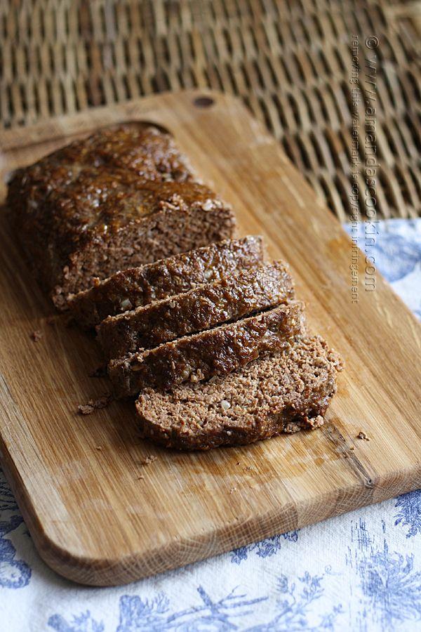 Quaker Oats Prize Winning Meatloaf - Amanda Formaro - Amanda's Cookin'