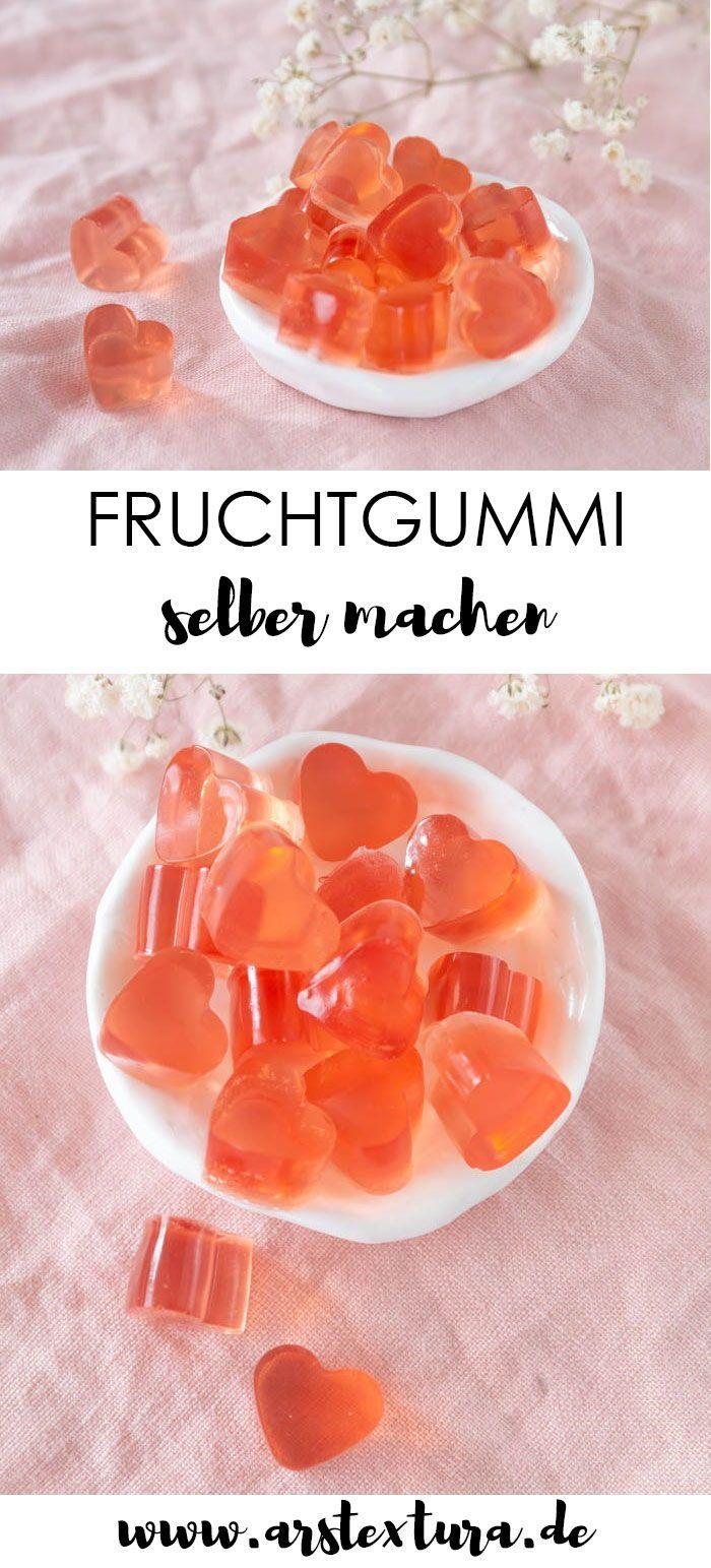 Machen Sie sich Fruchtgummi mit wenig Zucker – DIY-Geschenk für Muttertag oder Geburtstag …   – Bloggers Kitchen: It's Magic ♥