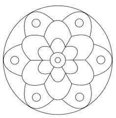 Best 25 Mandalas faciles ideas on Pinterest  Zentangle fcil
