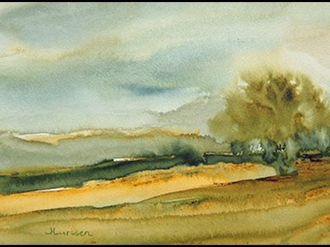 Do you want to learn to paint more loosely in watercolors. Check out my free video on Youtube. Enroll in my free course on painting mist in watercolor at http://jeanlurssenwatercolors.teachable.com/courses/painting-mist-in-watercolors