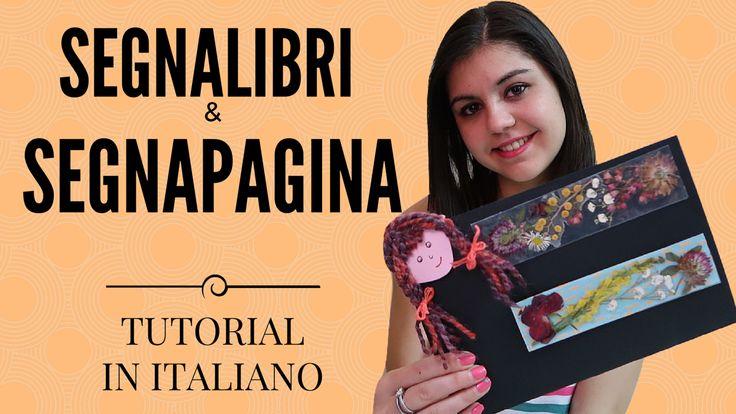 SEGNALIBRI e SEGNAPAGINA FLOREALI FAI DA TE  - TUTORIAL IN ITALIANO  Vi mostro come creare dei segnalibri e dei segnapagina con motivi floreali.