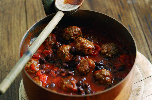This one pot wonder is great if you're into spicy food. Turn your usual chilli into hearty meatballs with this lower-fat recipe from Weight Watchers