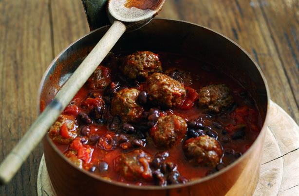 Chilli con carne meatballs recipe - goodtoknow