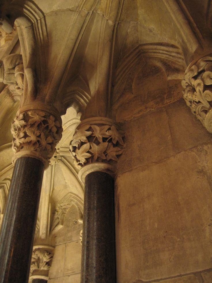 York Minster ivy column