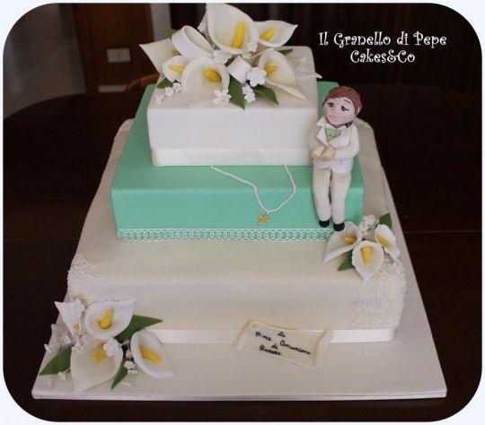Extrêmement 134 best torte prima comunione images on Pinterest | Communion  PY97
