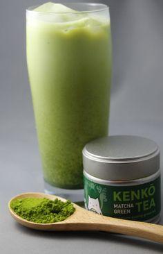 Iced Green Tea Latte Recipe   Iced Matcha Latte