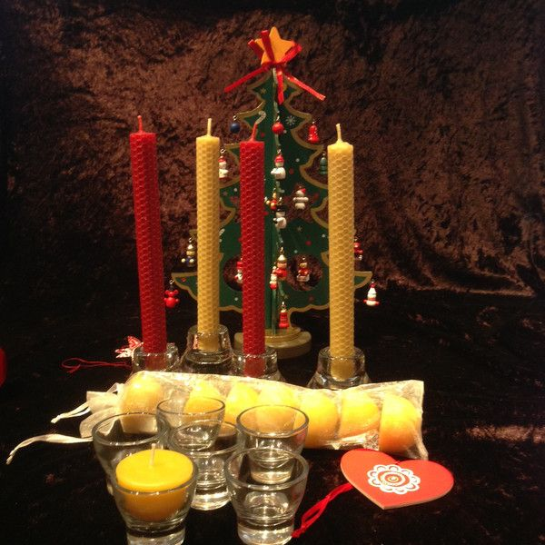 Christmas lunch candle pack from Happy Flame