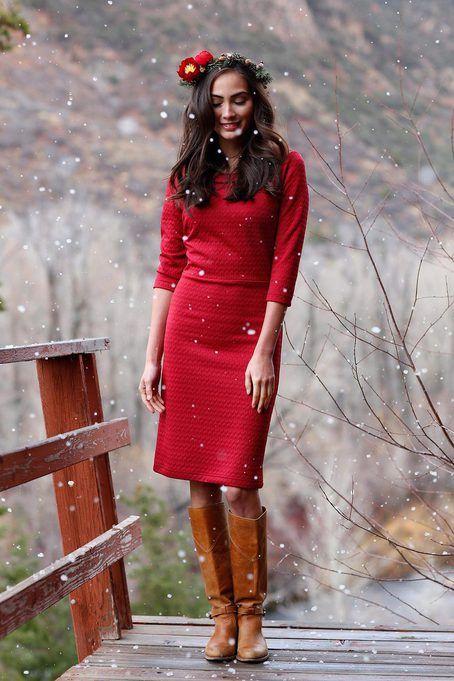 Shabby Apple Sleigh Bell dress