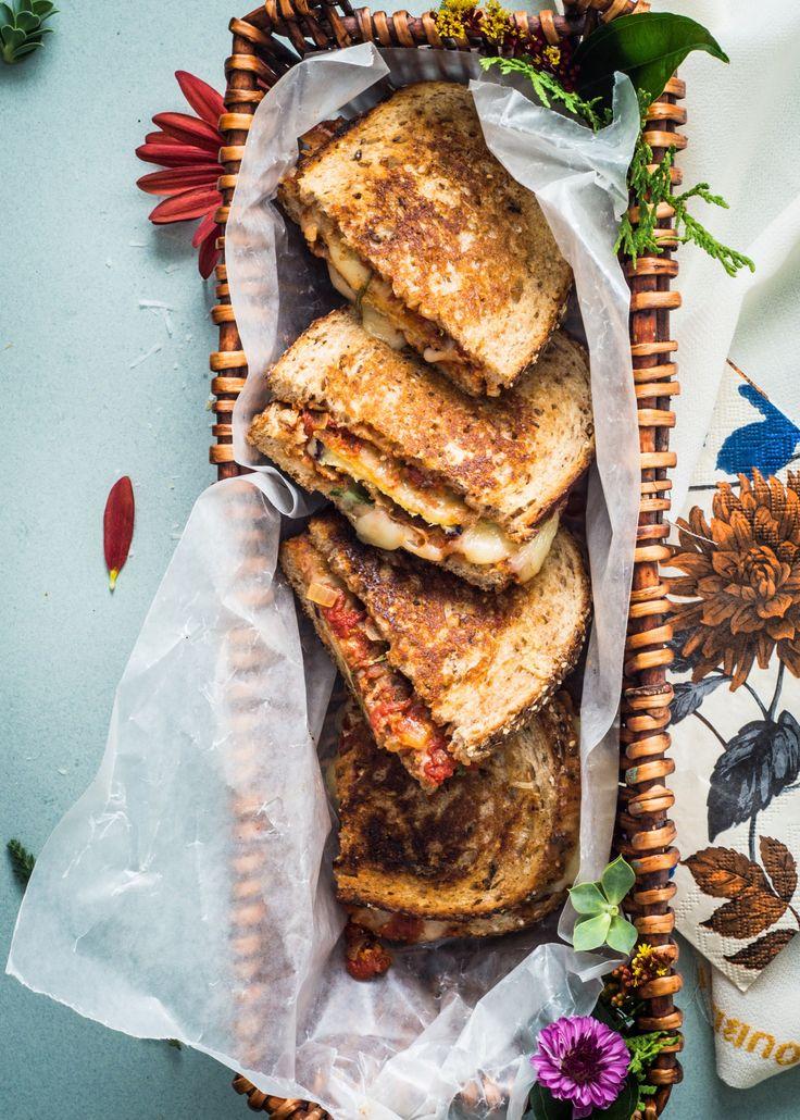 Eggplant Parm Grilled Cheese Sandwich   Pinterest: Natalia Escaño