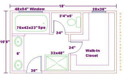 Bathroom And Closet Floor Plans Free 10x18 Master Bathroom Addition Floor Apartment Decorating Bathroom Floor Plans Bathroom Layout Et Bathroom Pla