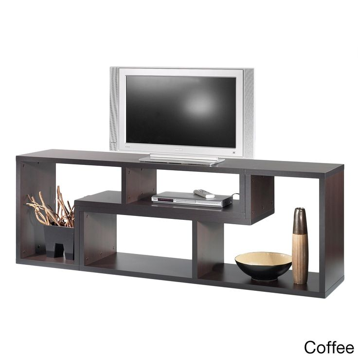 Stewart Sustainable Wood 77-inch Geometric Bookcase (