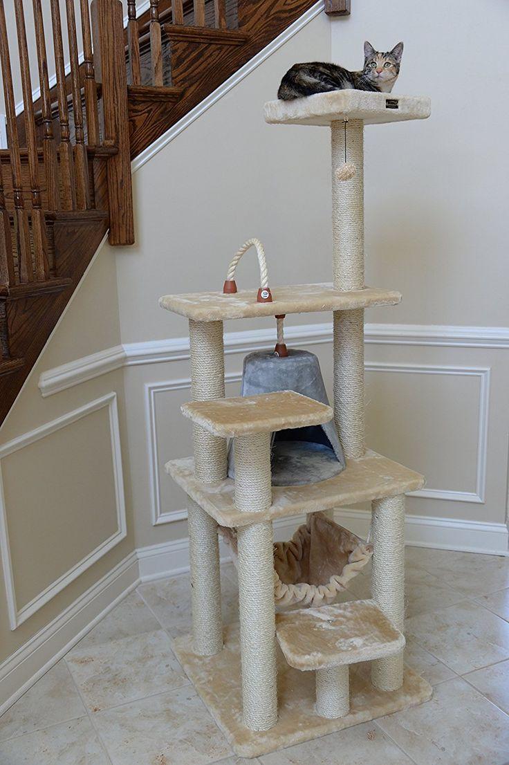 Amazon.com : Armarkat Cat Tree Model A6501, Beige : Cat Trees Cheap : Pet Supplies