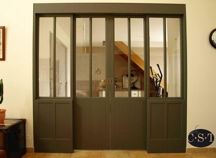 Oltre 1000 idee su porte int rieure vitr e su pinterest for Porte interieure vitree
