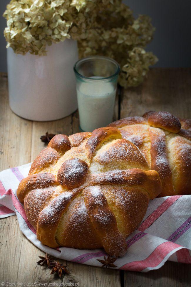 meksykański chleb umarłych, pan de muerto