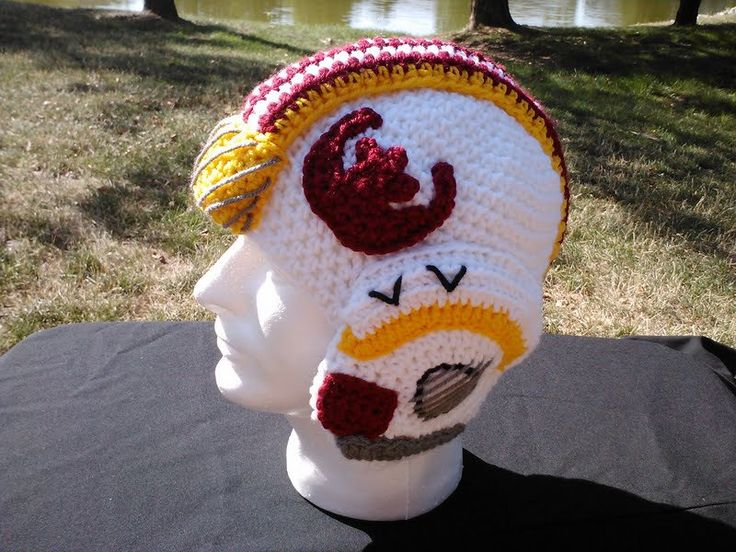 This is pretty much the most important fashion accessory I've seen today. Star Wars X Wing Crochet Helmet. $40.00, via Etsy.