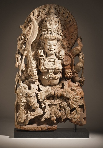 Kali, Kerala, 17th c. Wood
