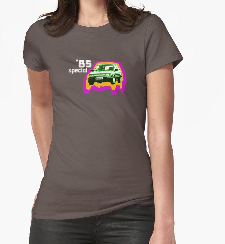 '85 Special - T-shirt design.  #1985 #85 #years #eightiesnostalgia #nostalgia #eighties #1980s #80s #cars #motors #fordfiesta85 #fordfiesta #fiesta #car #vroomvroom #fashion #cardesigns #teeshirts #cooltees #style #festivalwear #eightieskid #giftideas