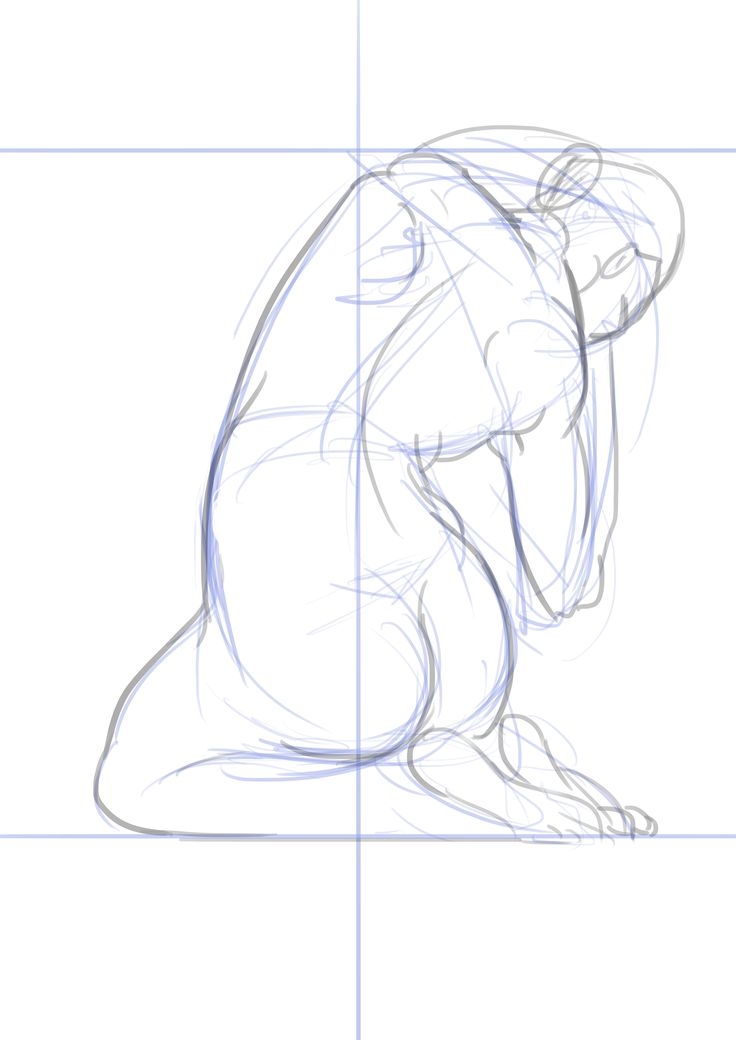 디지털작업. 구체적인 스케치 위에 추상적인 작업을 하기 위한 밑작업2. 근육과 라인 정리. 추상화를 위한 과정이지만 이 라인을 부분적으로 활용해볼 수 있을 것 같다.