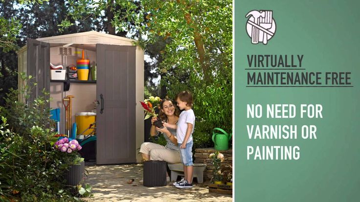 Keter Factor 6x6 Shed