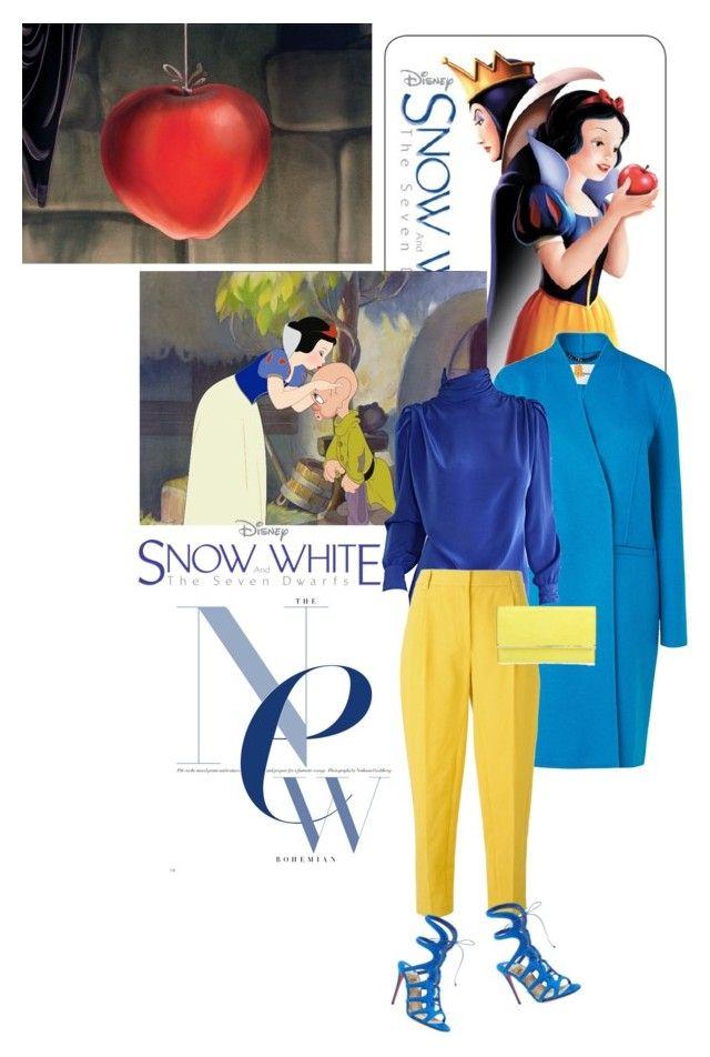 New Modern - Snow White by drigomes on Polyvore featuring St. John, L.K.Bennett, 3.1 Phillip Lim, Christian Louboutin, Henri Bendel, modern, women's clothing, women's fashion, women and female