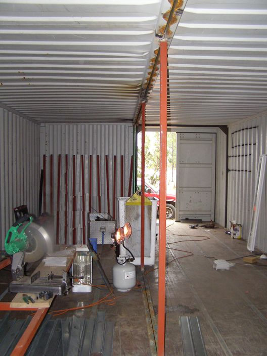 Container Home Construction The Construction Section