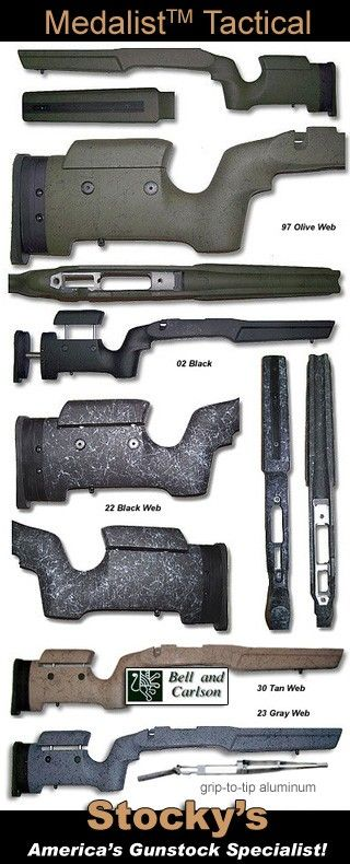 Bell & Carlson Tactical Medalist Style 5 Fully Adjustable - Remington 700…