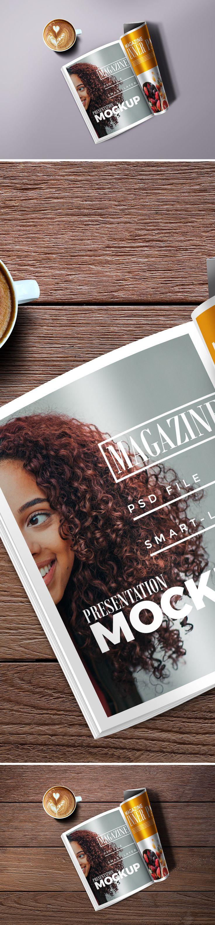 #Magazine #Mockup #PSD