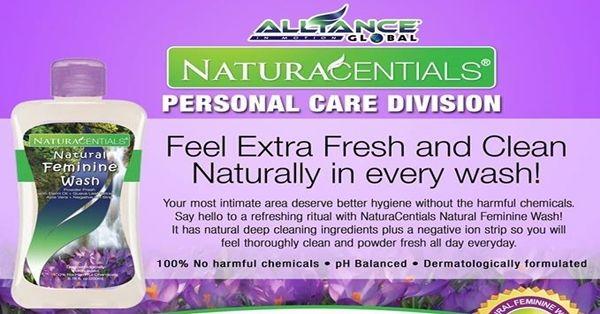 get always fresh with Natura Centials