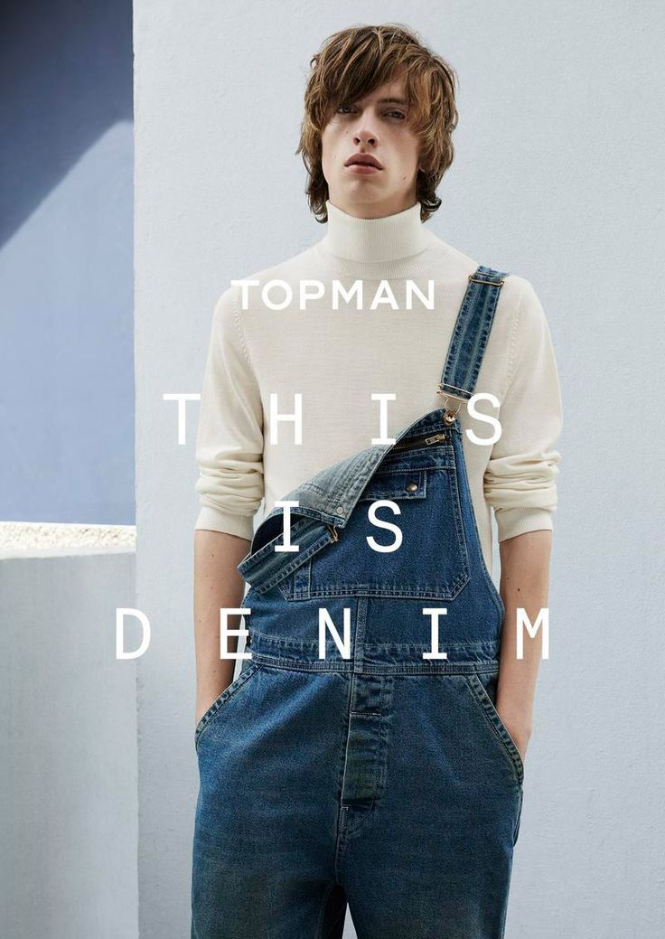 """TOPMAN released its latest campaign titled """"This is Denim"""", photographed by Ben Toms and styled by Robbie Spencer."""