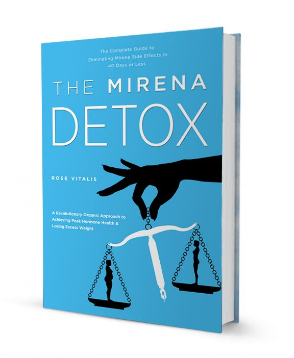 Detoxing the Mirena progestin from your body and balancing your own progesterone.