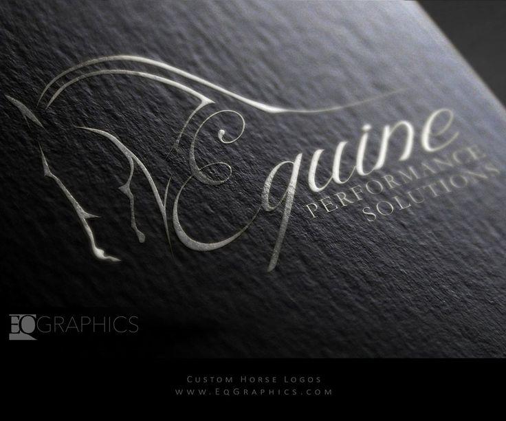 Custom Equine Logo Design by Top Horse Logo Graphic Designer EQ Graphics